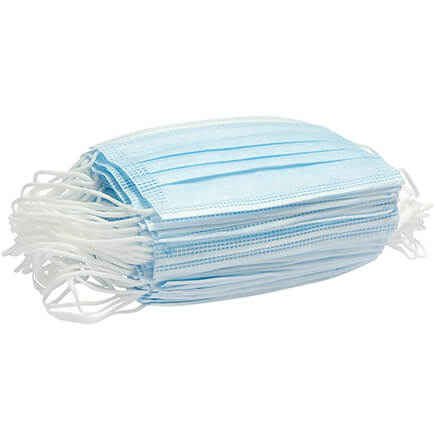 3-Ply Disposable Masks, Set of 50
