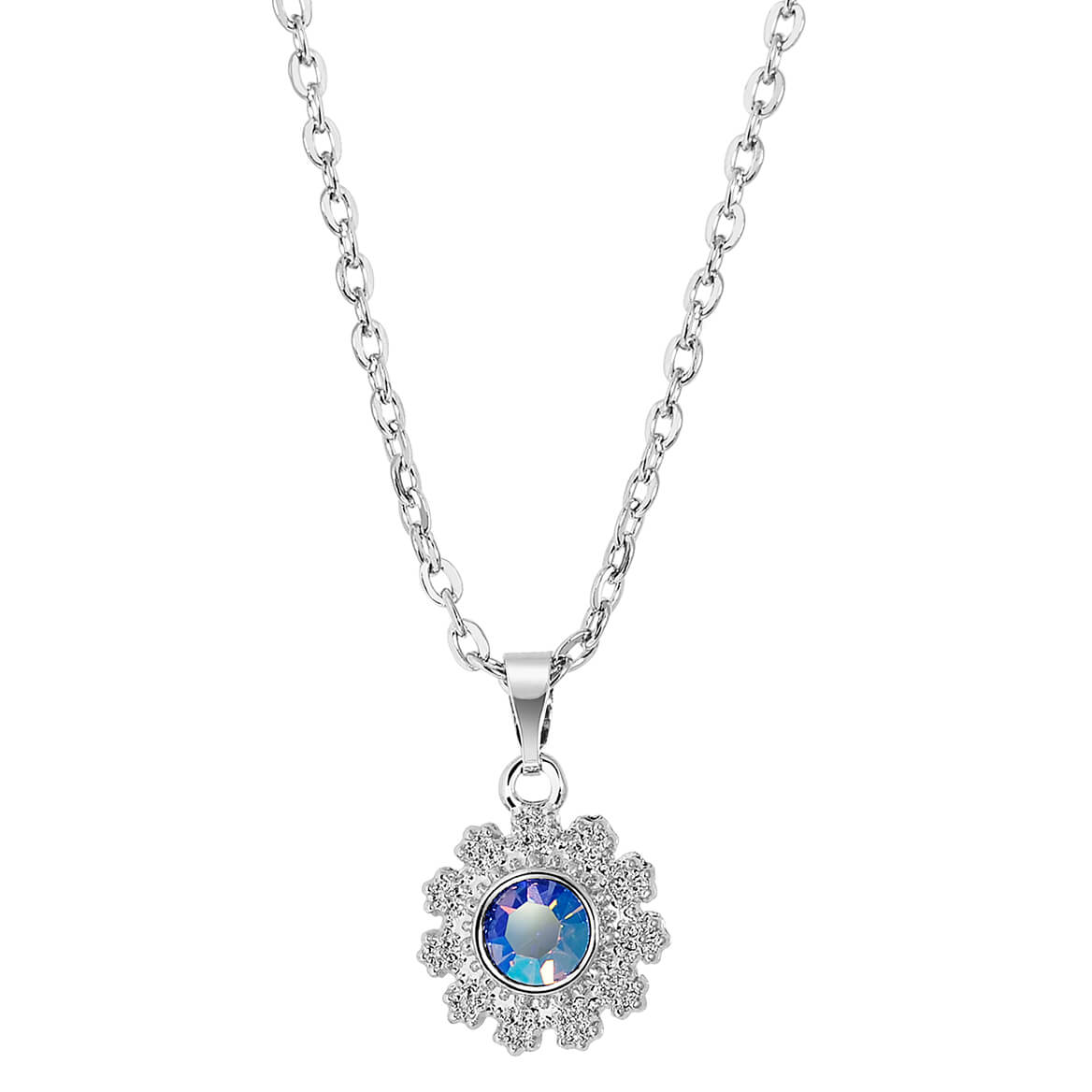 Radiant Pendant with Swarovski® Crystal-371405